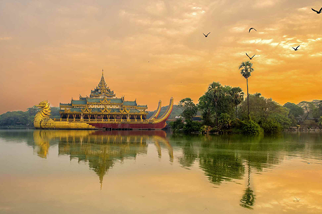 Best time to travel to Yangon Myanmar