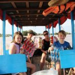 boat trip in tonle sap lake