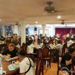 dinner at local restaurant vietnam study tour
