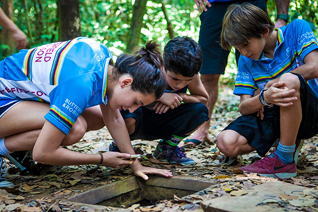 explore cu chi tunnels with kids