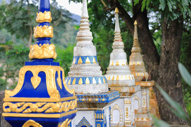 temple in muang la