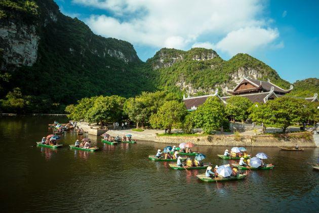 trang an landscape complex in Ninh Binh