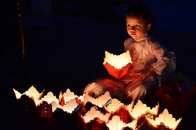 Lanterns in Hoi An Festival