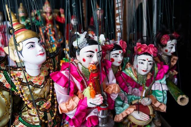 Marionettes - Best Myanmar souvenirs