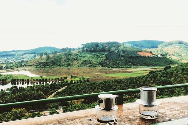 Me Linh Coffee Garden in Dalat