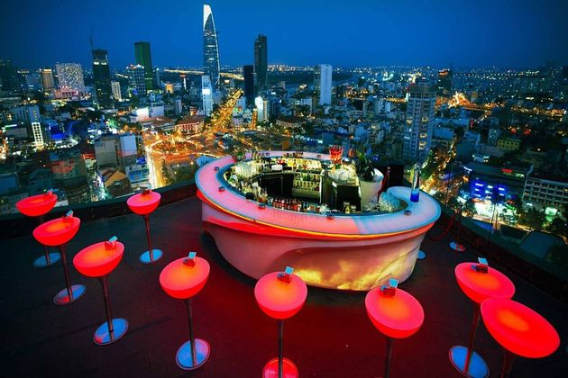 Rooftop Bar in Ho Chi Minh City