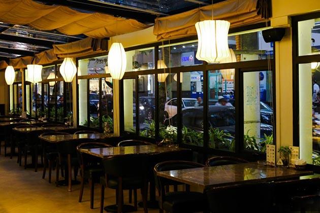 Zephyr Cafe in Hanoi