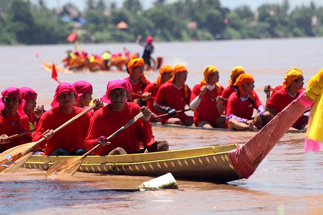 Laos Boat Racing Festival