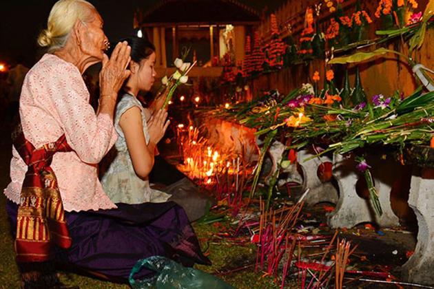 Laos Boun Khoun Khao Festival