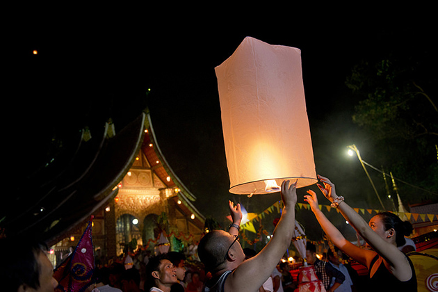 Laos Boun Ok Phansa Festival