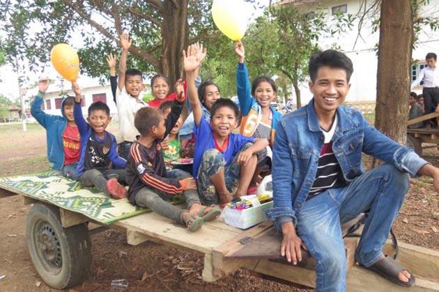 Laos Children Day
