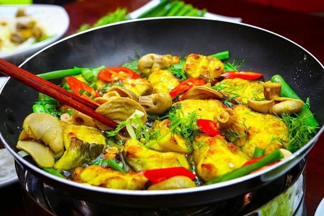 cha ca hanoi grilled fish vietnamese food tours from hanoi