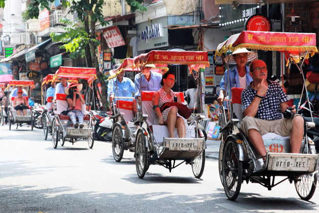 cyclo in hanoi