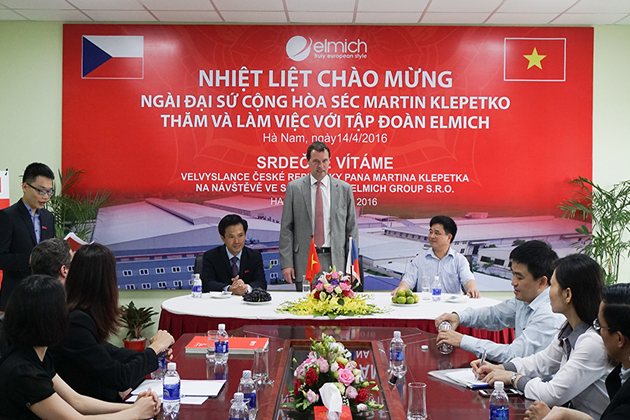 czech consulate - cooperation between czech and vietnam