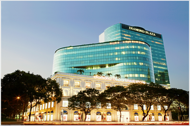 diamond plaza shopping mall ho chi minh city