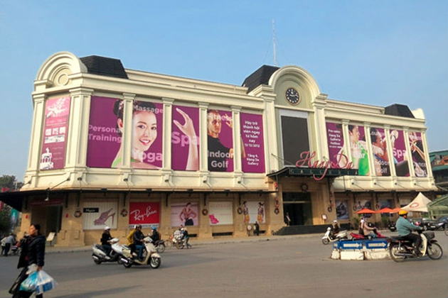 hang da galleria shopping mall hanoi