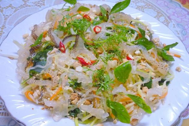 jelly fish salad ly son island