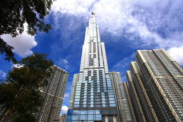 landmark 81 the tallest building in Southeast Asia