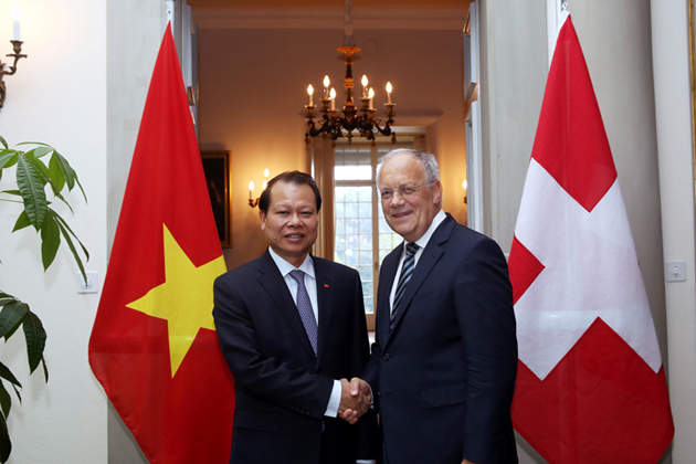 swiss embassy - cooperation between vietnam and switzerland