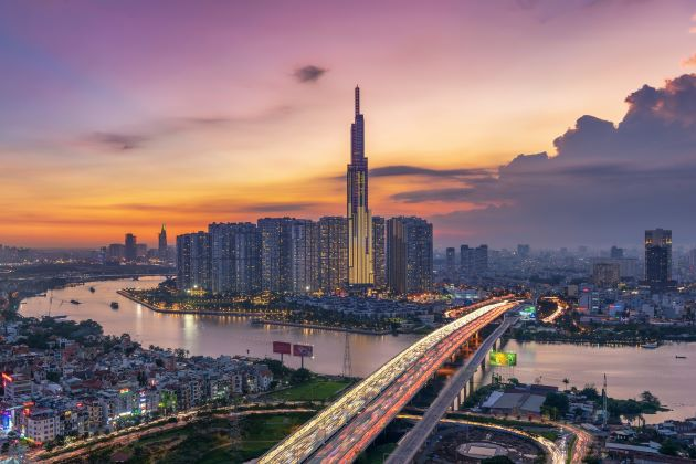 the landmark 81 building the proud of vietnam