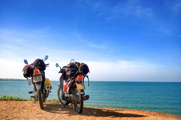 travel by motorbike in danang