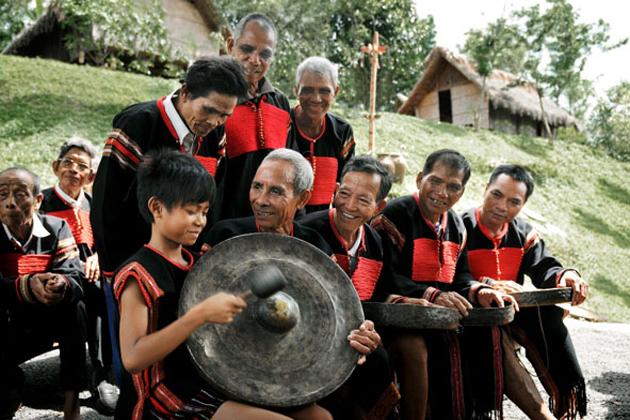 vietnamese musical instrument gong