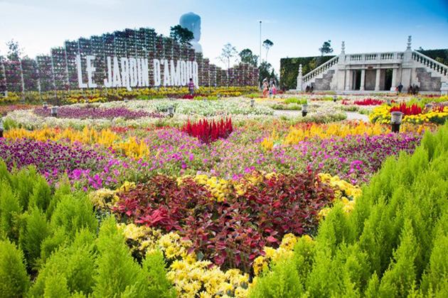 Le Jardin D'Amour Garden ba na hills