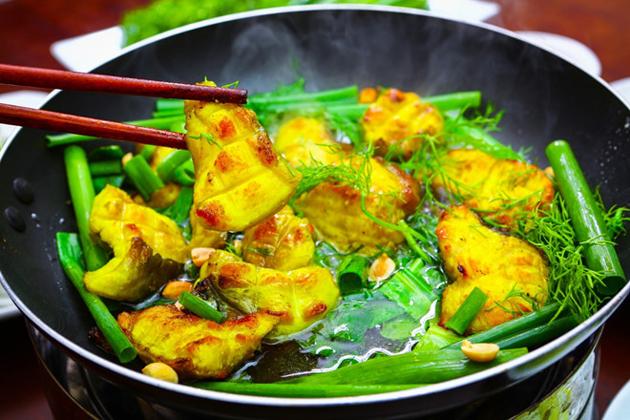 cha ca la vong la vong fried fish vietnamese food names