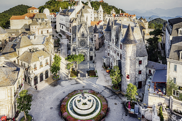 french village ba na hills