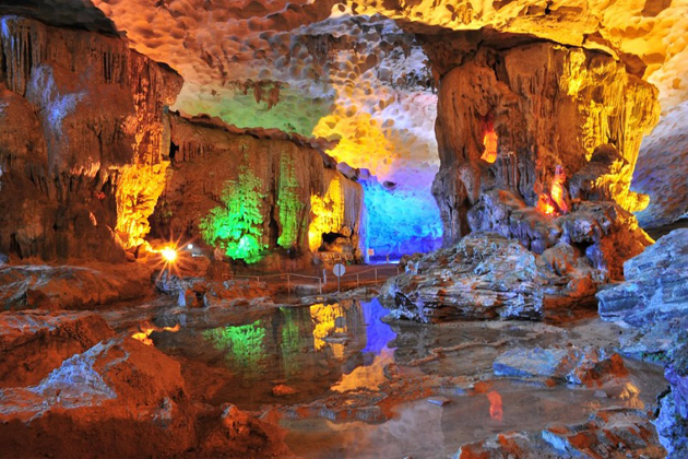 ha long cave halong bay tours from hanoi