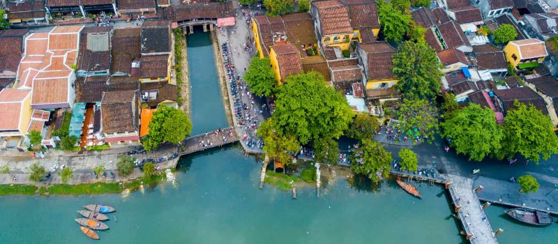 hoi an from above