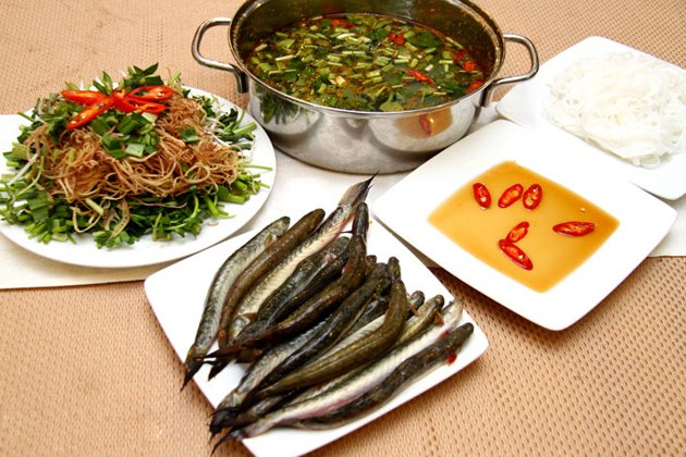 lau ca keo ground dragon fish hotpot vietnamese food menu with pictures