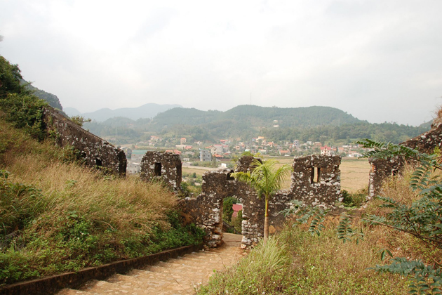mac dynasty citadel in tuyen quang province