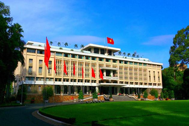 reunification palace ho chi minh city tour