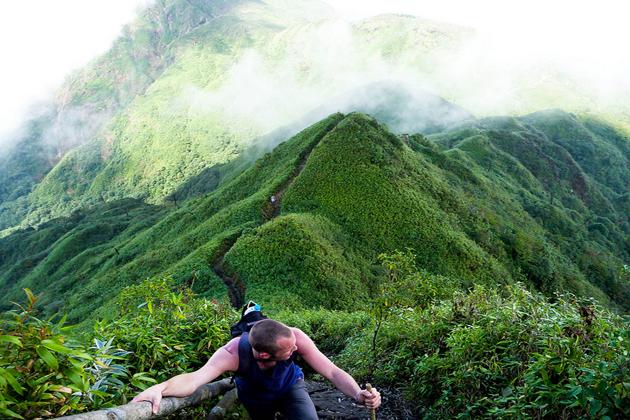 trekking journey in vietnam