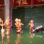 water puppet show vietnam cycling tour