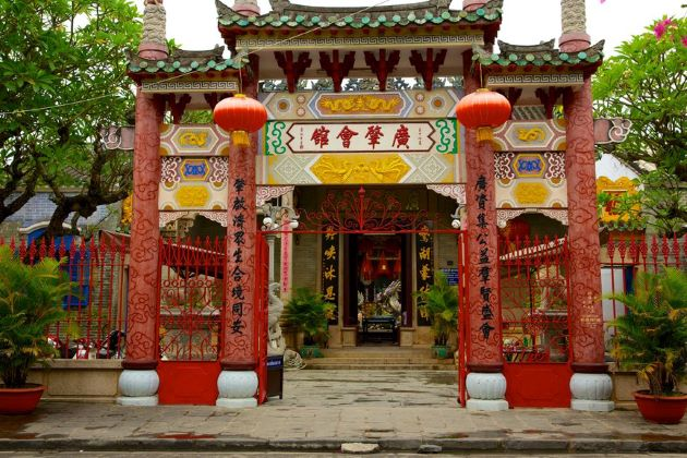 Assembly Hall of the Cantonese Chinese Congregation hoian