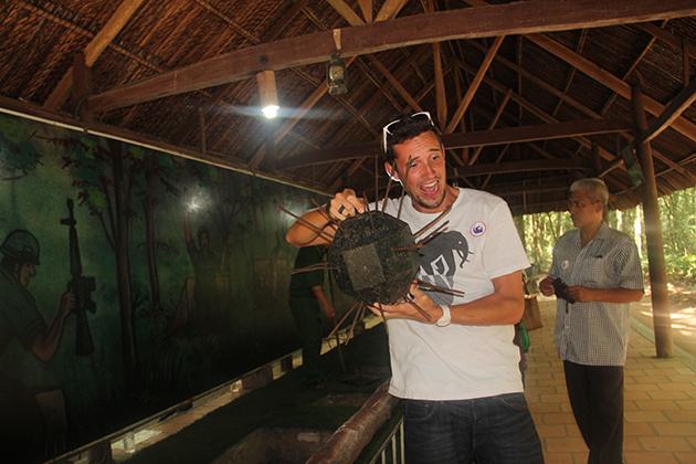 Cu Chi tunnel half day package