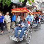 Cyclo trip around Hanoi Old Quarter