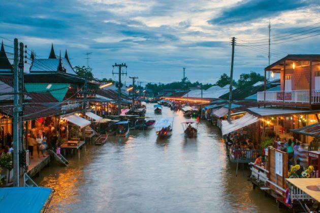 Mae Klong River boat trip