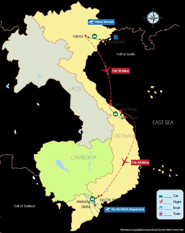 Vietnam Family Adventure Tour – 15 Days