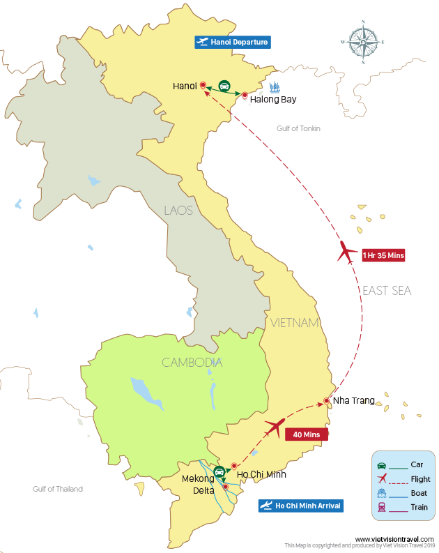 Vietnam Family Vacation – 10 Days