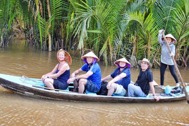 boat trip in mekong delta vietnam