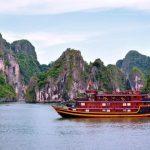 cruise ship in halong bay