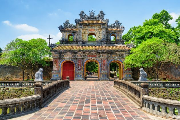east gate in hue imperial city
