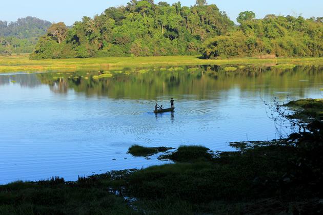 bau sau cat tien national park vietnam vacation