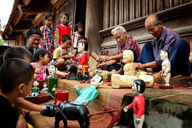 see puppets on a classic vietnam vacation package