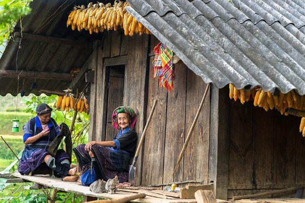 ta van village hiking