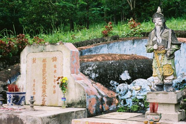 The Tombs of the Mac Family in ha tien vietnam