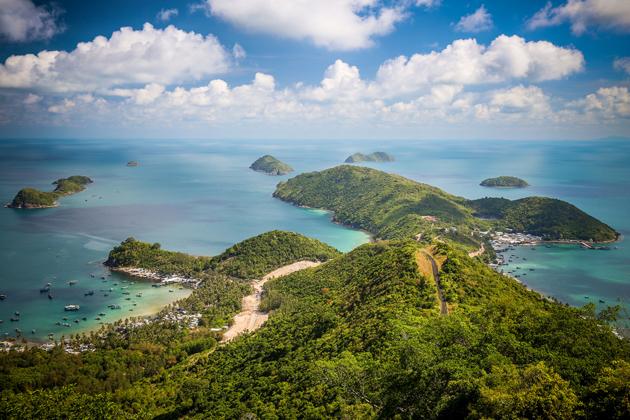 Остров Нам Ду во Вьетнаме